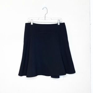 AKRIS Punto Black Wool Skirt Size 10